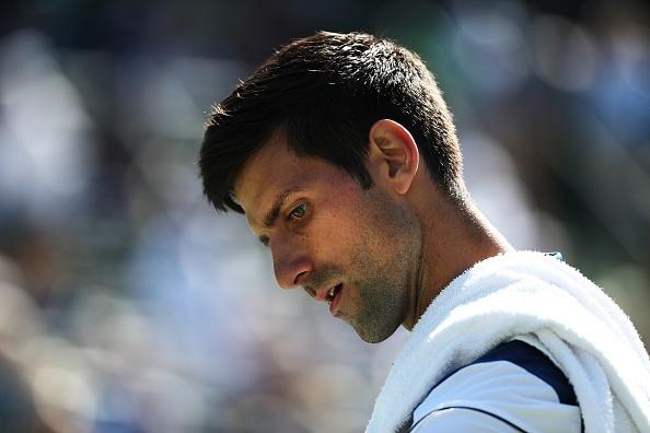 Djokovic nhan that bai kep o tran ra quan Miami Open hinh anh
