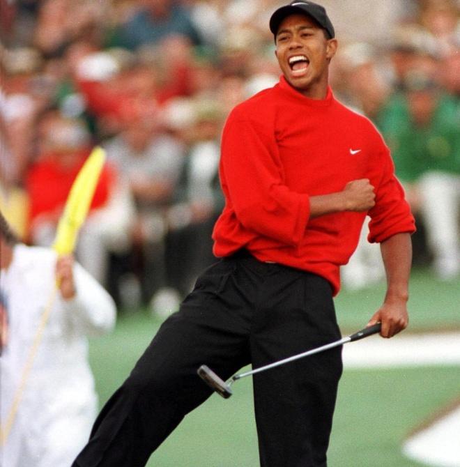Tiger Woods va phong cach thoi trang cua huyen thoai golf the gioi hinh anh 2
