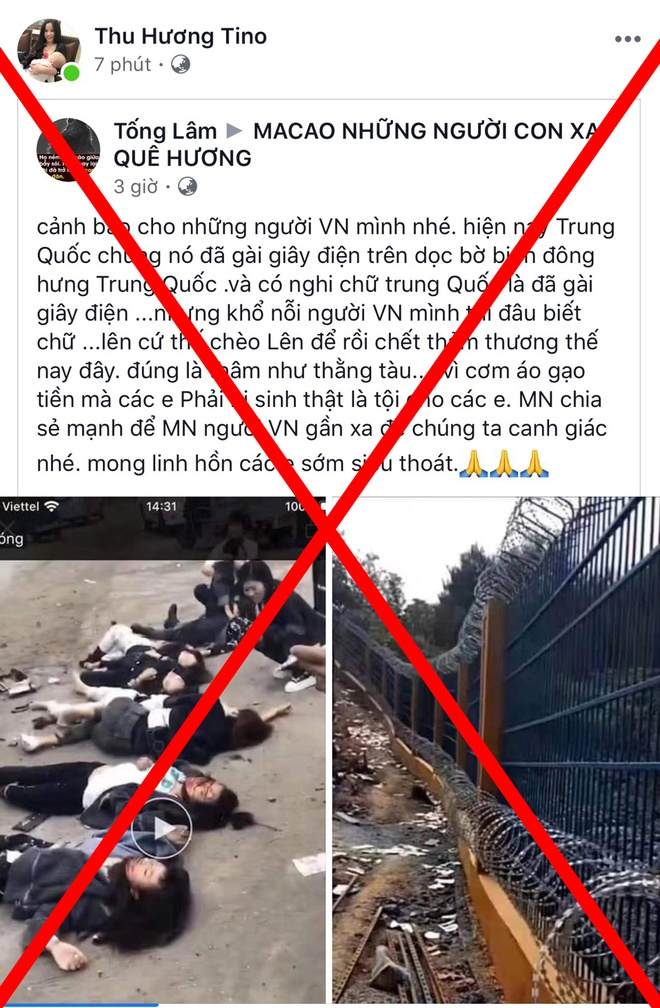 Bac tin 7 cong dan Viet Nam tu vong o bien gioi Trung Quoc hinh anh 1