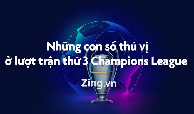 Nhung con so thu vi o luot tran 3 Champions League 2019/20 hinh anh