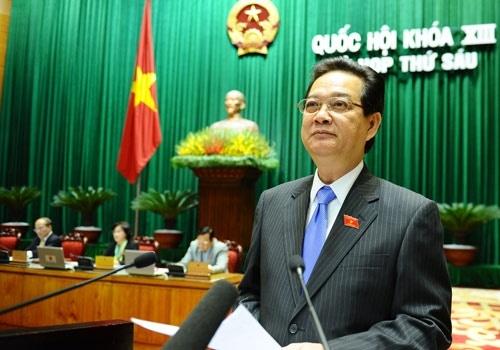 Truoc gio mien nhiem, PTT Nguyen Thien Nhan khong phat bieu hinh anh