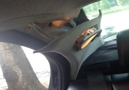 Binh cuu hoa mua tai Big C no tung trong xe BMW hinh anh
