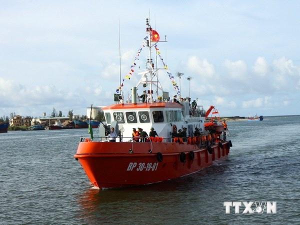 Trang bi tau tuan tra day du vu khi cho bien phong Quang Tri hinh anh 1 Tàu CN-09 tại cảng biển Cửa Việt.