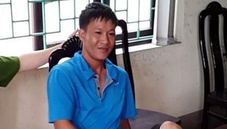 Chuyen an phat hien quan bai chua chat phong xa nguy hai hinh anh 1 Đối tượng Bùi Đình Chung tại cơ quan điều tra.