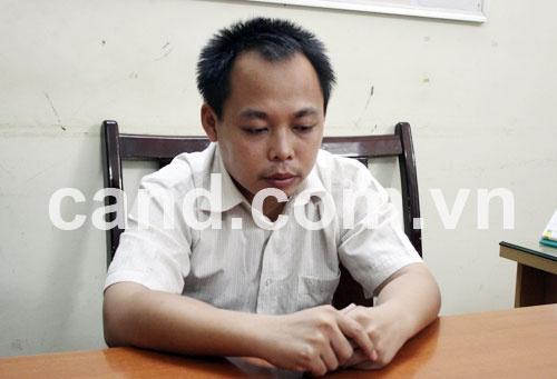 Trần Thanh Bình tại CQĐT.