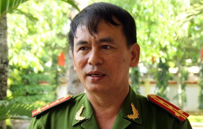 Se xu ly hinh su nguoi nem da xe khach hinh anh 1 Đại tá Đoàn Quốc Thư.