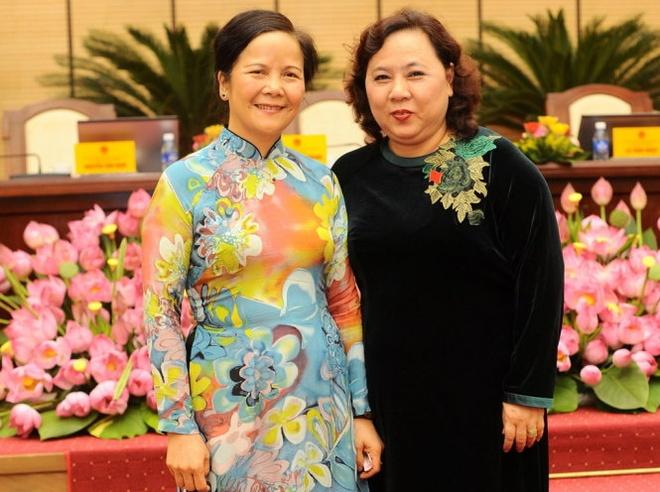 Ba Nguyen Thi Bich Ngoc lam Chu tich HDND TP Ha Noi hinh anh