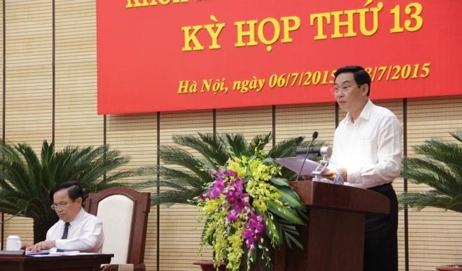 HDND Ha Noi nhat tri ten duong Mac Thai To, Mac Thai Tong hinh anh