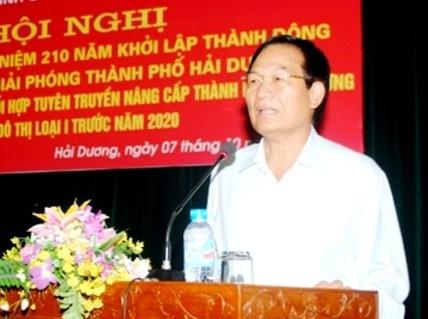 Chap thuan cho bi thu Thanh uy Hai Duong nghi cong tac som hinh anh