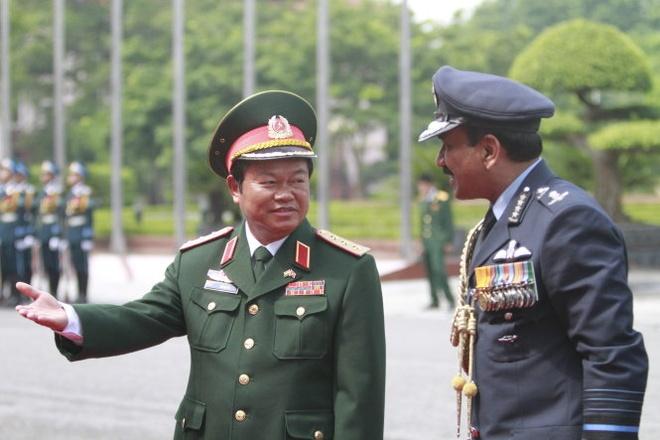 Dai tuong khong quan An Do tham Viet Nam hinh anh