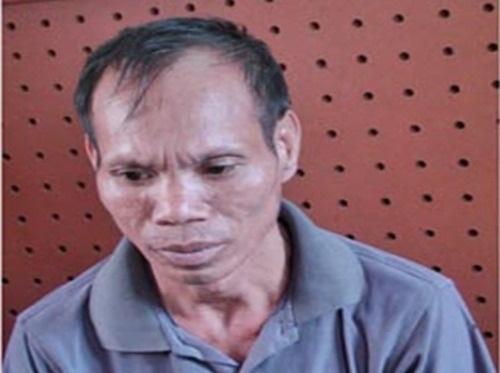 Bo chem chet con trai, phi tang sau nha hinh anh 1 Triệu Văn Thắng tại cơ quan công an