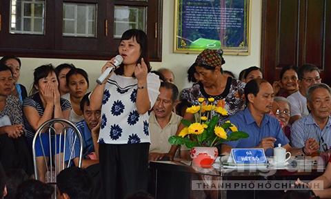 Ben trong khu tam quat chua ba benh cua 'Thanh Co' hinh anh 3 Bà Phú khẳng định cơ sở của mình chỉ tẩm quất chứ không chữa bệnh.