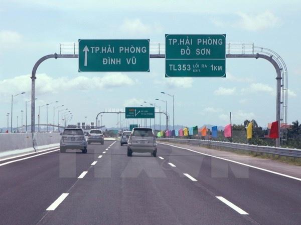 Cuoi thang 9 thong xe them 52 km cao toc Ha Noi - Hai Phong hinh anh