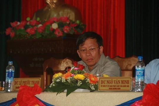 Ong Le Phuoc Thanh: 'Toi muon co cong bo dung sai ro rang' hinh anh