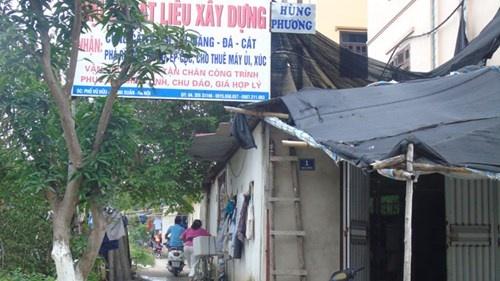 'Xa hoi den' bao thau cong trinh sai phep? hinh anh 3 Khuôn viên Dự án nhà ở Quốc hội cũng bị lấn chiếm.