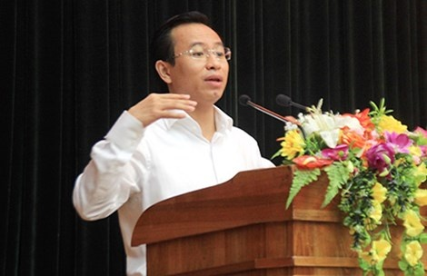 Ong Nguyen Xuan Anh: 'Da Nang dang thut lui' hinh anh 1