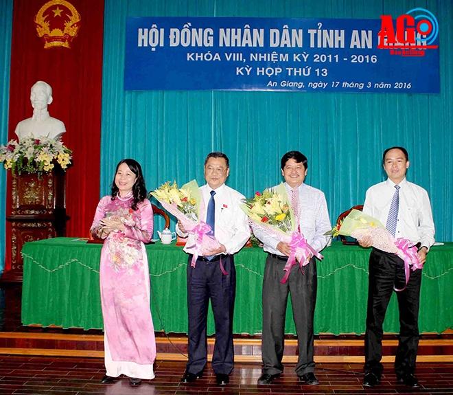 An Giang co tan Chu tich HDND, Pho Chu tich UBND tinh hinh anh 1