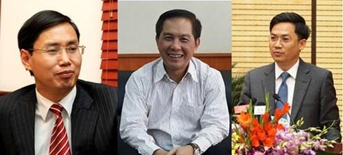 Chu tich UBND TP Nguyen Duc Chung bo nhiem 3 Giam doc So hinh anh 1