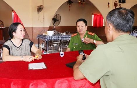 Mao danh Canh sat PCCC de ban tai lieu hinh anh 1