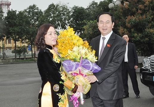 Chu tich nuoc Tran Dai Quang lam viec tai Ninh Binh hinh anh 2