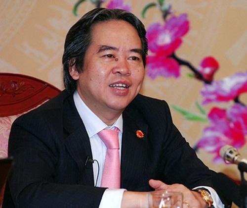 Ong Nguyễn Văn Binh Lam Trưởng Ban Kinh Tế Trung ương Xa Hội