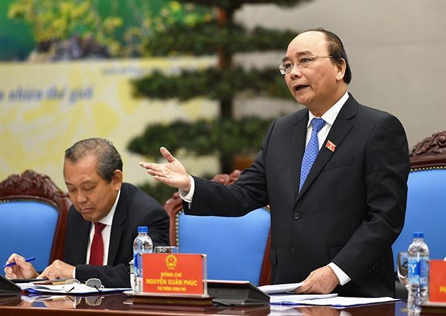 Thu tuong Nguyen Xuan Phuc: Phai bat tay ngay vao viec hinh anh