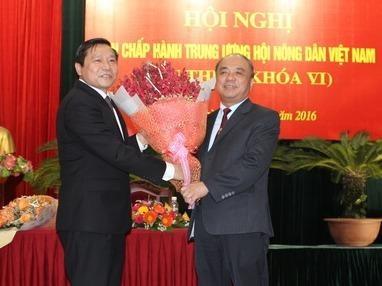 Hoi Nong dan Viet Nam co Chu tich moi hinh anh