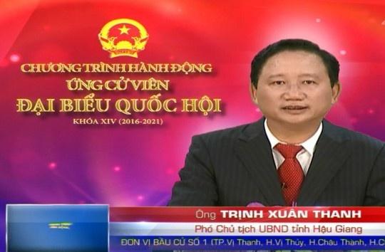 Xem xet tu cach dai bieu Quoc hoi cua ong Trinh Xuan Thanh hinh anh