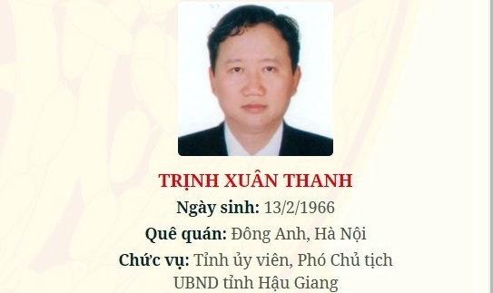 Xem xet tu cach dai bieu Quoc hoi cua ong Trinh Xuan Thanh hinh anh 1