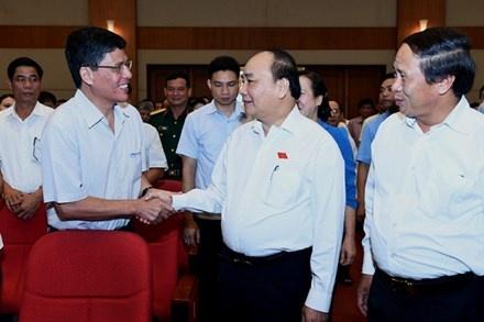 Thu tuong: Chinh quyen phuc vu dan chu khong phai hanh dan hinh anh 1