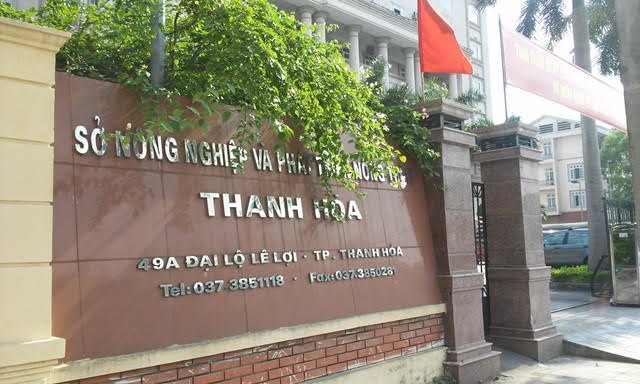 So Nong nghiep Thanh Hoa tung co 11 pho giam doc hinh anh 1