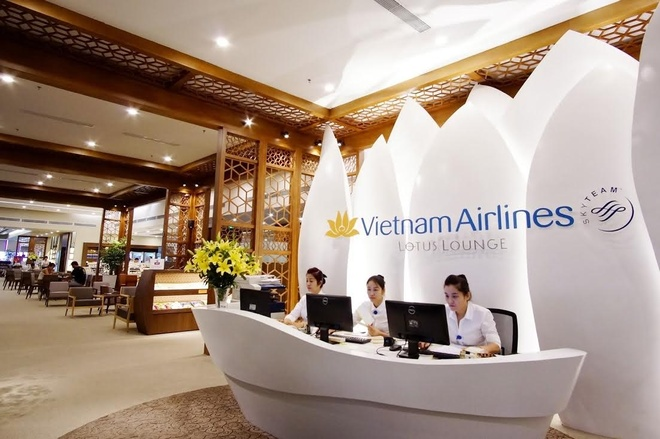 Vietnam Airlines tiep tuc khai truong phong khach 4 sao hinh anh 1