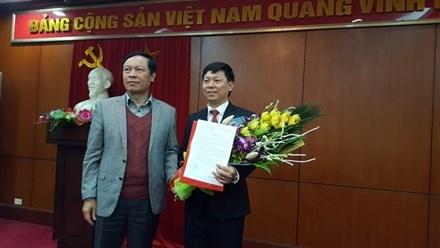Ban Tuyen giao TU bo nhiem lanh dao Vu Bao chi - Xuat ban hinh anh 1