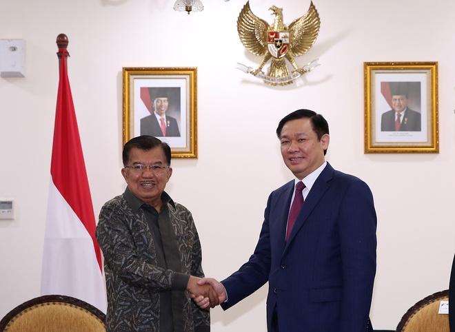Viet Nam - Indonesia tang cuong hop tac kinh te, quoc phong hinh anh 1