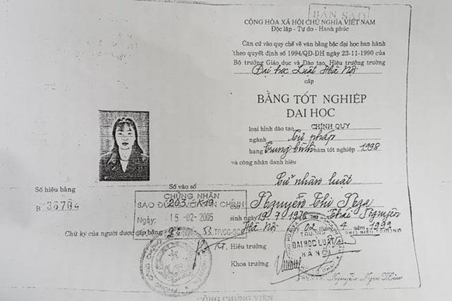 Tham phan o Thai Nguyen xai bang gia co dau hieu toi pham hinh anh 1