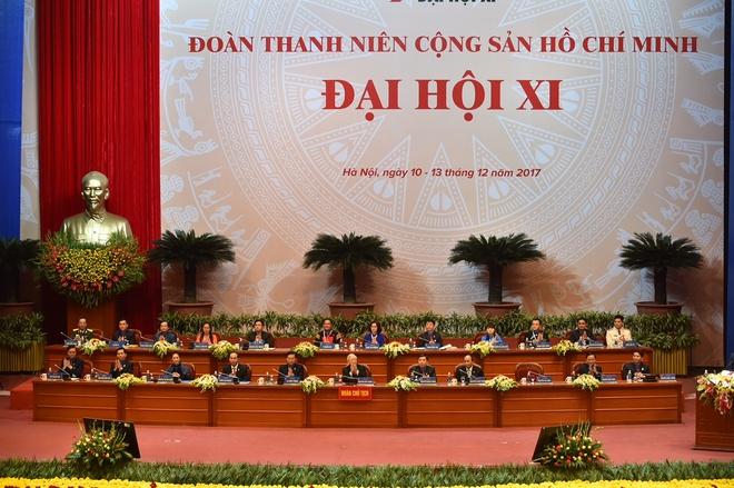 Khai mac trong the Dai hoi Doan toan quoc lan thu XI hinh anh