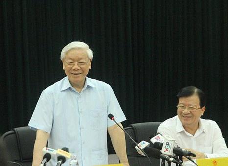 Tong bi thu: Bo Cong Thuong xu ly 'nhieu chuyen noi bo dau dau' hinh anh