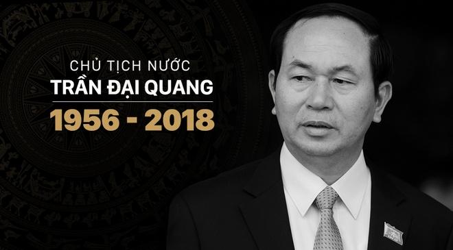 To chuc quoc tang Chu tich nuoc Tran Dai Quang trong 2 ngay hinh anh