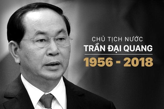 Chu tich nuoc Tran Dai Quang tu tran hinh anh