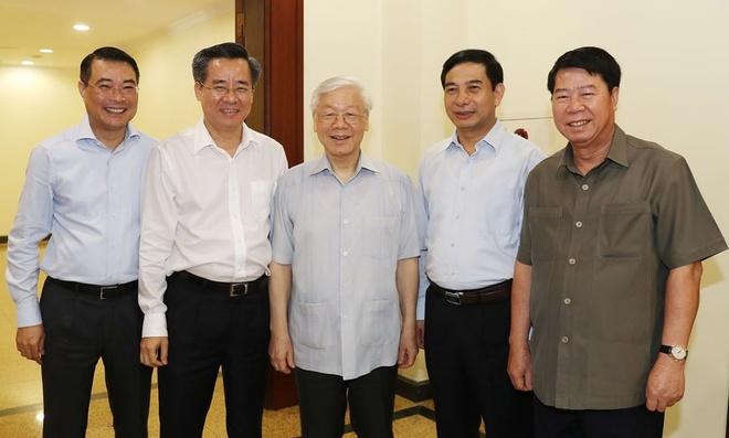Tong bi thu Nguyen Phu Trong duoc gioi thieu lam Chu tich nuoc hinh anh 2