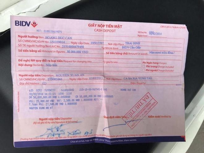 Cho thoi viec can bo Thanh tra Chinh phu nhan tien cua me liet si hinh anh 1