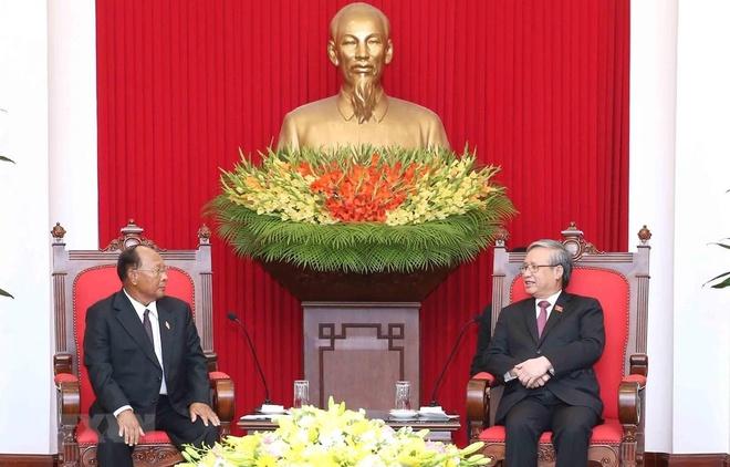 tiep Chu tich Quoc hoi Vuong quoc Campuchia anh 1