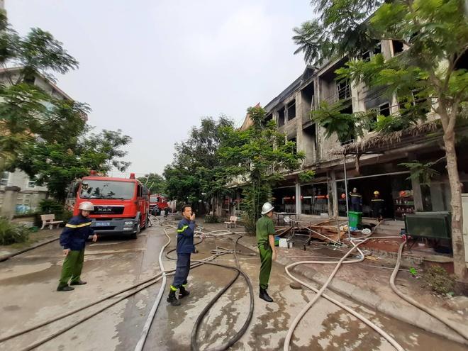 Cháy lớn tại Thiên đường Bảo Sơn