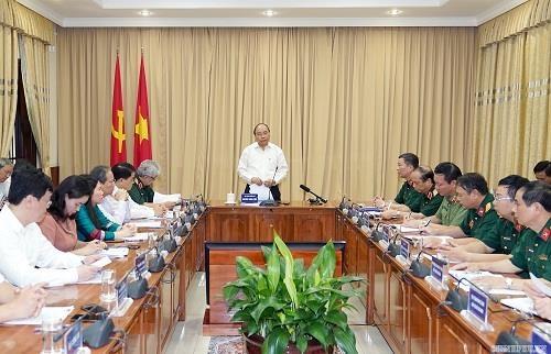 Thu tuong kiem tra cong trinh, khu vuc Lang Chu tich Ho Chi Minh hinh anh 1