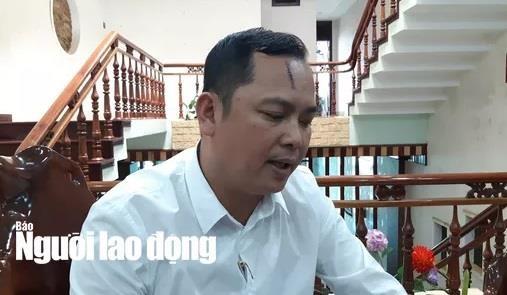 Vu giang ho vay xe cho cong an: Nguoi bi danh 'phan phao' hinh anh 1