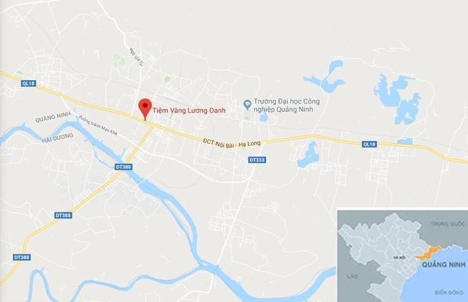 Cuop tiem vang o Quang Ninh anh 3