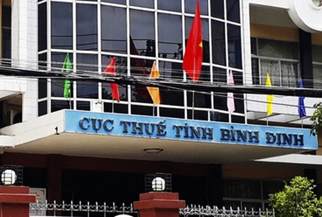 Cuc truong Cuc thue Binh Dinh bi giang chuc hinh anh 1