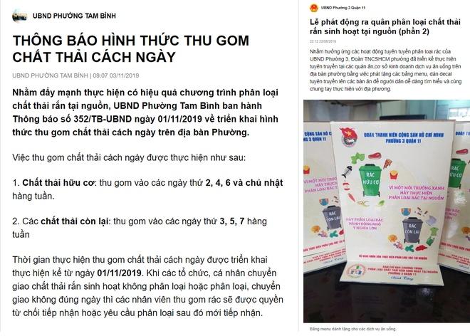 Dung Zalo huong dan phan loai rac anh 1