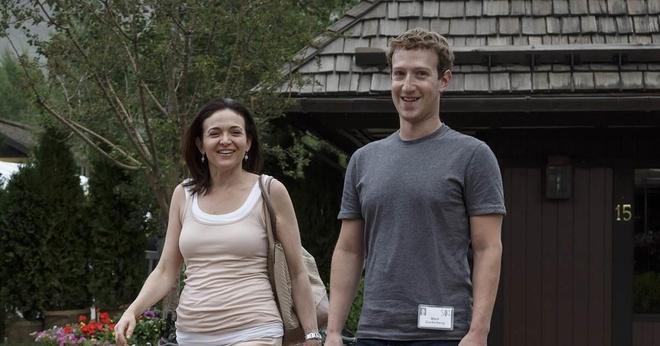 Sheryl Sandberg chia tay ban trai ty phu hinh anh 2