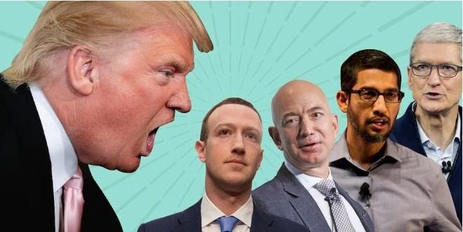 Bi dieu tra, gia tri Amazon, Apple, Facebook va Google bay 33 ty USD hinh anh 1